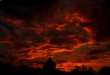 Sunset / Fire in the sky