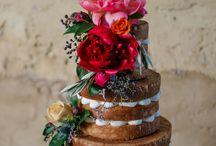 Wedding Cakes / Contemporary wedding cakes created by Amanda Lee, Sugar Sugar Cakes