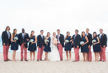 Our Wedding / Pictures of our Wedding in Fort Lauderdale, Florida. It was a Nantucket style wedding!