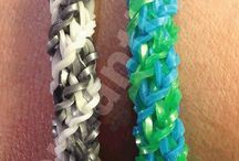 Andria - band bracelets / by Brandy Higdon