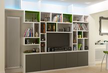 Storage Solutions / Storage solutions for your bedroom, home office, living room, children's room etc.