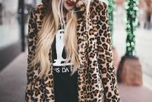 Fur coats and blonde hair