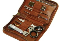 Seki Edge Men's Grooming Kits / Seki Edge offers a wide variety of men's grooming kits ranging from a simple 2-piece grooming kit perfect for travel to a larger 9-piece grooming kit for a man's detailed grooming needs! All men's grooming kits are extremely high quality and include a durable carrying case, stainless steel tools and more.