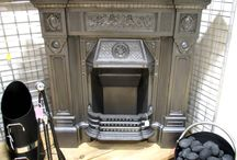 Bespoke Fireplaces / A selection of the work we have done and products available for our customers to peruse at their leisure.  Antique, Restored and Bespoke Fireplaces are included in this - all original work by the talented team at Period Home Style.  Any enquiries info@periodhomestyle.co.uk. Happy Pinning!