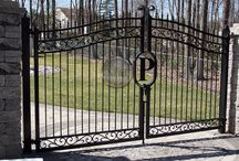 Gates / Commercial and residential gates, from pedestrian walk gates. driveway gates, to cantilever slide gates.