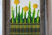 Crayon Art / by Crystal Chesser