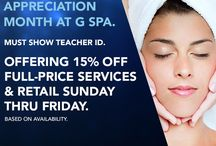 Treat Yourself / Foxwoods has two world-class spas right here on-site for you to rest, relax, and rejuvinate. Feel your best after pampering yourself at G Spa & Salon or Norwich Spa at Foxwoods. / by Foxwoods Resort Casino