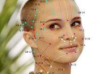 acupunture points face