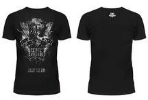 T-Shirt mit Motiv Skull, Biker, Vintage