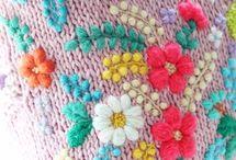 Brodera kuddar / Embroidery cushions