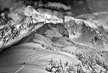 Ski inspiration / Landscapes, ski slopes, winter, snow, mountains...everything to inspire you to go skiing
