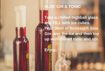 Ways to drink Sloe Gin / Amazing cocktail ideas with Nonesuch Sloe Gin
