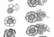 Henna tutoriales
