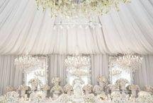 Svatební výzdoba - bílá