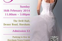 Come Say Hello!! / Wedding Fairs that we will be attending, it would be great to see you there too!
