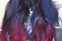 Hair colours/styles