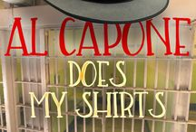 Capone does my shirts