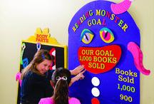 Scholastic Book Fairs: Monster Book Fair - Pre-K/ES / Kick your book fair off in style using our Fall 2015 theme!