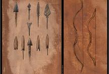 Huns / Doğu, Batı ve Avrupa Hunları. (Eastern, Western and European Huns) Emre Erdur'un 2004 yılında Atlas Dergisi için çizdiği Hun tasarımları.