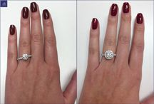 Reset Engagement Ring / Ideas for how to reset, upgrade, or update your engagement ring.