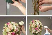 Fleurs. Faire soit même