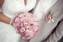 Bryllup tema gammelrosa og grå
