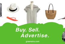 Nigerians Buy Sell Advertise on Greenaira Today / Nigerians can sell mobile phones, car, buy properties, men, ladies clothes and and advertise any service in Lagos, Abuja, Delta, Port Harcout