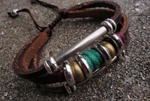 Jewellery with Leather / by Lesley St Clair