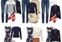 Сочетание одежда