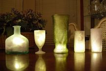 COOL CANDLE, LITE, & GLO LITE IDEAS / by Linda Fornshell