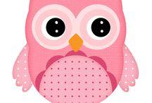 Baykuş-OWL / Decoupage