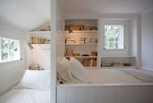 Book nooks and cool bookshelves