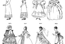 fashion history / by Allison Earnshaw
