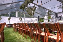 Clear Top Tents / all clear top tents, structure (40'-50'-60' wide) and regular frame (30' wide)