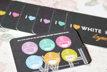 Coffee cards, flyers and websites