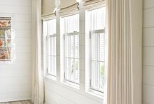 Drapes on the wall