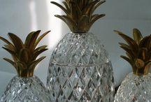 decoração Objetos de Abacaxi