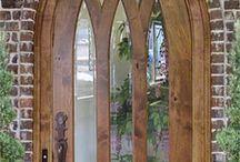 Ajtók, Kapuk, Ablakok - Doors, gates, windows