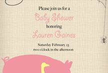 Baby Charlottes shower <3  / by Jessica Taylor