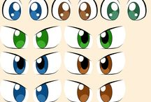 drawing eyes and faces
