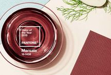 Marsala 2015 / Pantone color of the year