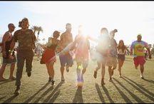 Coachella / Coachella music and arts festival look-book.