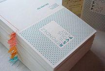 Naamkaartjes, drukwerk / by Katja Jamar