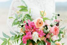 Style - Bohemian / By definition, bohemian weddings have a free-spirited, romantic air about them thanks to lush, wildly romantic florals and a rich color palette. Pair oriental rugs and mismatched furniture with organic elements, such as flower crowns and floral chandeliers, to get that casual yet glamorous style.