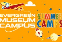 Summer Camps / Evergreen Museum and Wings & Waves waterpark have a fun way to engage, inspire, while offering a one-of-a-kind experience through our week long Summer Camps as well as our Fun Fridays. We believe in making education a three letter word -  FUN! / by Evergreen Museum
