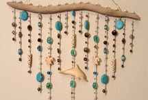 Driftwood curtains - Dream catchers