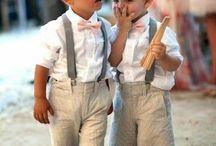 Meninos das alianças / Inspirações roupa meninos das alianças