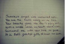 Love in words.  / by Mackenzie Mason