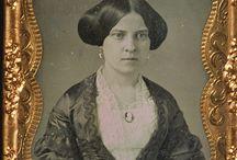 1850s Daguerreotypes, CdVs & Ambrotypes