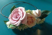 Acconciature headdress / Acconciature per la sposa
